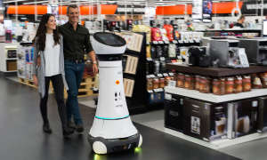 Roboter Paul in Ingolstadt im Saturn