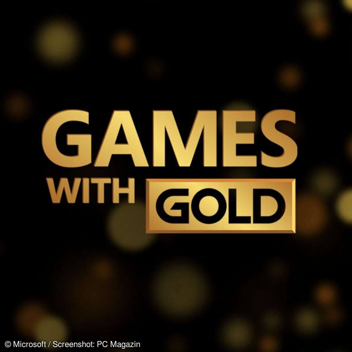 Games with Gold mit Xbox live