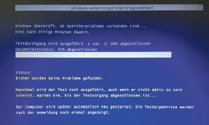 Windows 10 Speicherdiagnose