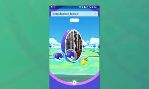 Pokemon GO Beeren am Pokestop