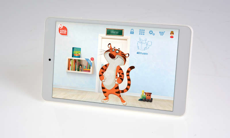 odys tigertab im test das android tablet f r kids pc. Black Bedroom Furniture Sets. Home Design Ideas