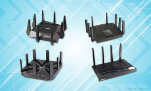 Triband-Router Test 2017
