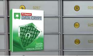 PC Magazin Data Crypt Landing Page