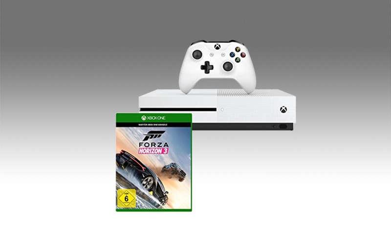 xbox one s kaufen bundle mit fifa 17 und forza horizon 3. Black Bedroom Furniture Sets. Home Design Ideas