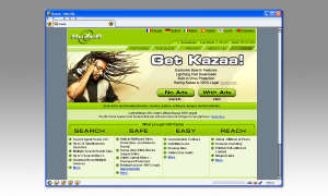 Screenshot: Kazaa