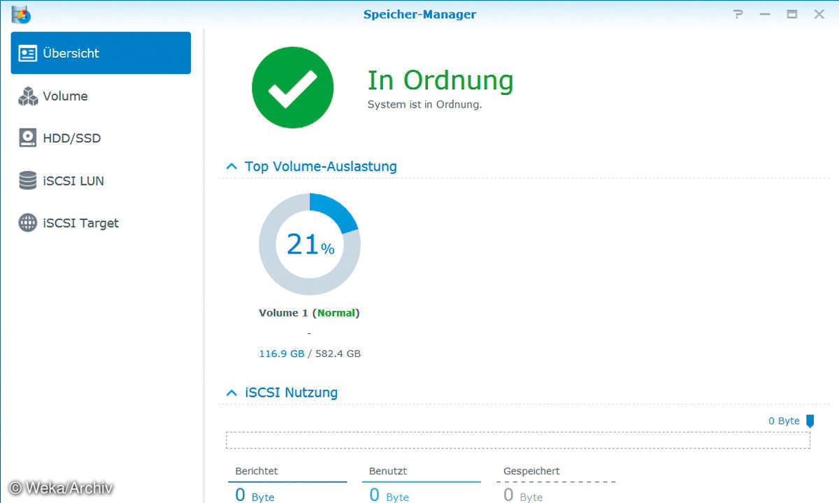 Synology Speicher Manager