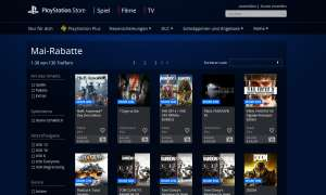Games Sale Angebote PS4 PS3