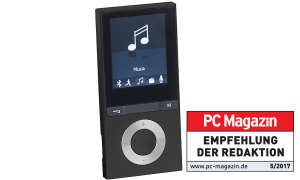 Bluetooth-MP3-Player V3 mit UKW-Radio & E-Book-Reader