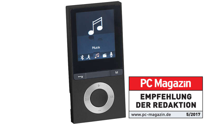 auvisio bluetooth mp3 player v3 mit ukw radio e book. Black Bedroom Furniture Sets. Home Design Ideas