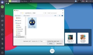 Bluestacks APK manuell installieren