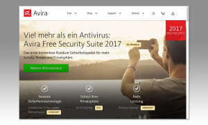 Screenshot: Avira