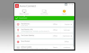 Screenshot: Avira installieren