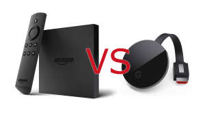 Fire TV vs Chromecast