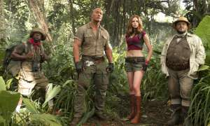 Dwayne Johnson Kevin Hart Karen Gillan Jack Black Welcome to the Jungle
