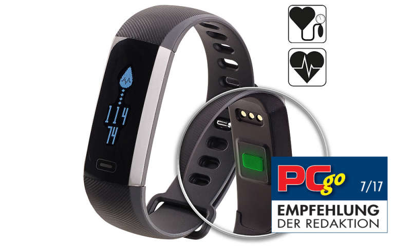 bluetooth 4 0 fitness armband blutdruck herzfrequenz. Black Bedroom Furniture Sets. Home Design Ideas