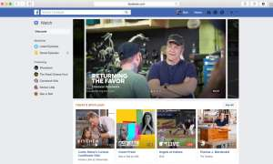 Watch Facebook-TV
