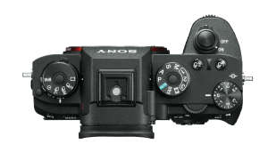 Sony Alpha 9 top