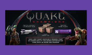 Quake Champions Twitch Prime Loot