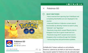 Pokemon GO Update 0750 Changelog Data Mine