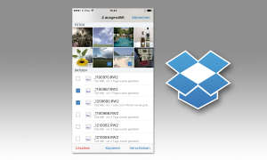 Dateimanager Dropbox auf iPhone
