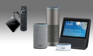 Amazon-Hardware: Fire TV, Echo-Serie