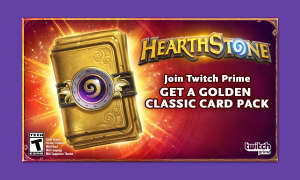 Twitch Hearthstone Prime Loot