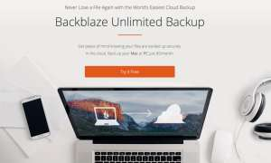 Backblaze Unlimited Backup