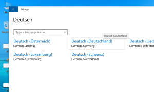 Windows Systemsprache umstellen