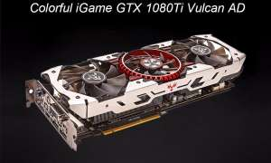 Colorful iGame GTX 1080 Ti Vulcan AD