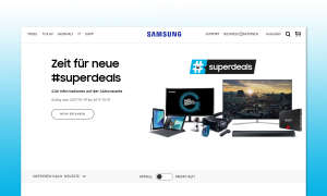 Samsung Superdeals Cashback Aktion 2017