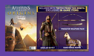Twitch Prime Loot Assassins Creed Origins