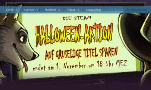 Steam Halloween Aktion 2017