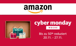 Amazon Cyber Monday Woche 2017 Start Termin