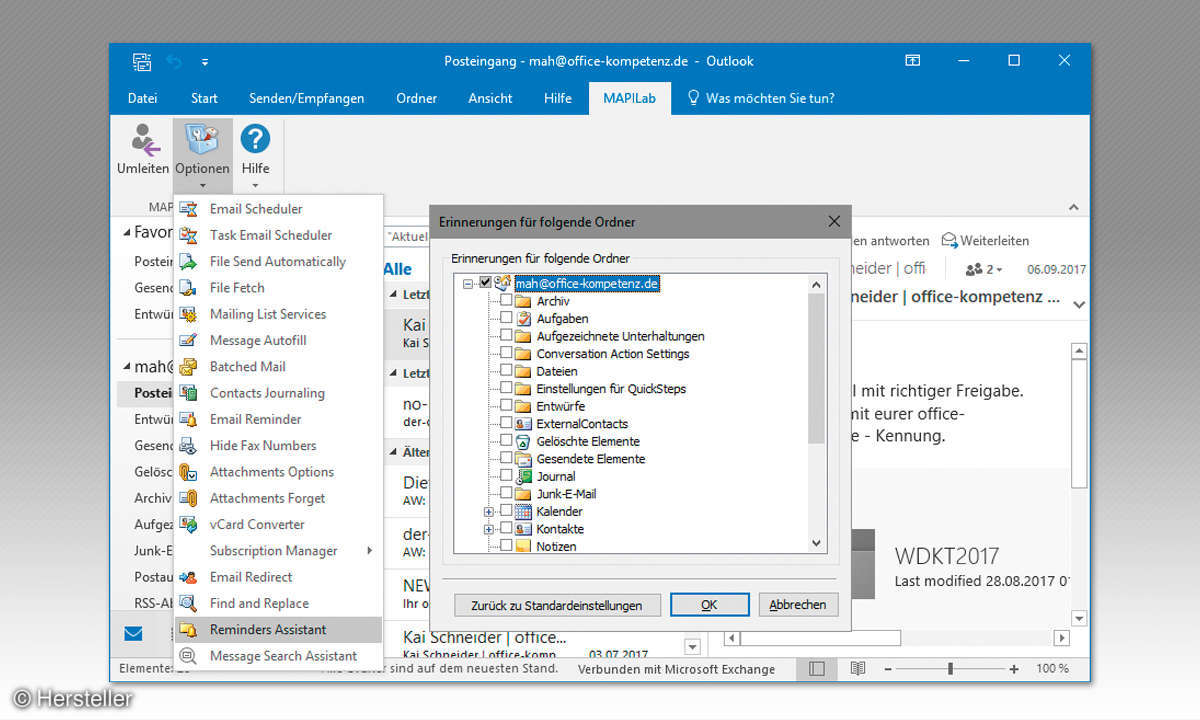 Outlook-Add-In MAPILab