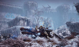 Horizon Zero Dawn: The Frozen Wilds im Tes