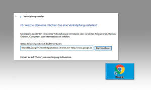 Windows Tipps & Tricks: Verknüpfung Browser - Website