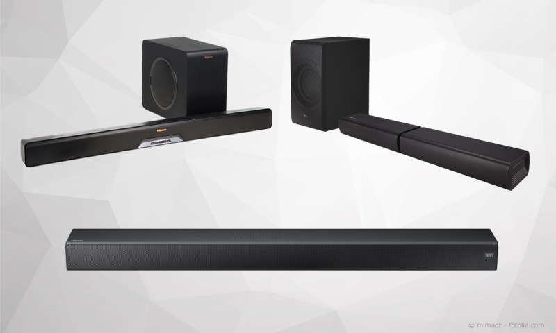soundbar test 2018 modelle von samsung lg co im. Black Bedroom Furniture Sets. Home Design Ideas