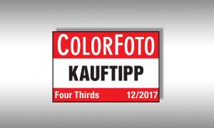 colorfoto Testsiegel Kauftipp Four Thirds