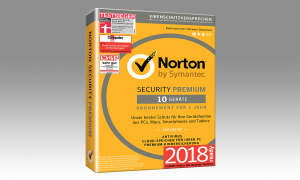 Platz 10. Symantec Norton Security Premium
