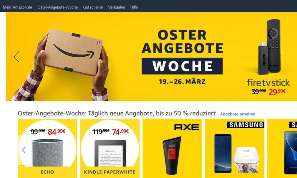 Amazon: Oster-Angebote-Woche