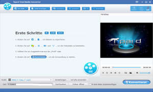 Tipard Total Media Converter - Startbearbeitungsfenster