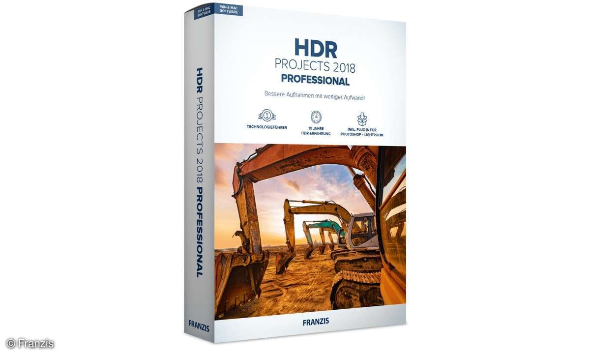 Franzis HDR Projects Pro 2018