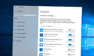 Windows 10: Autostart
