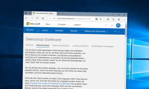 Windows 10: Datenschutz-Dashboard