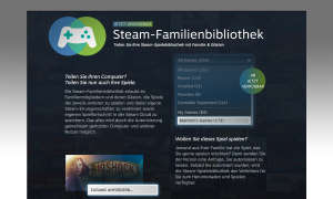 Steam Familienbibliothek