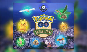 pokemon go safari zone japan Yokosuka