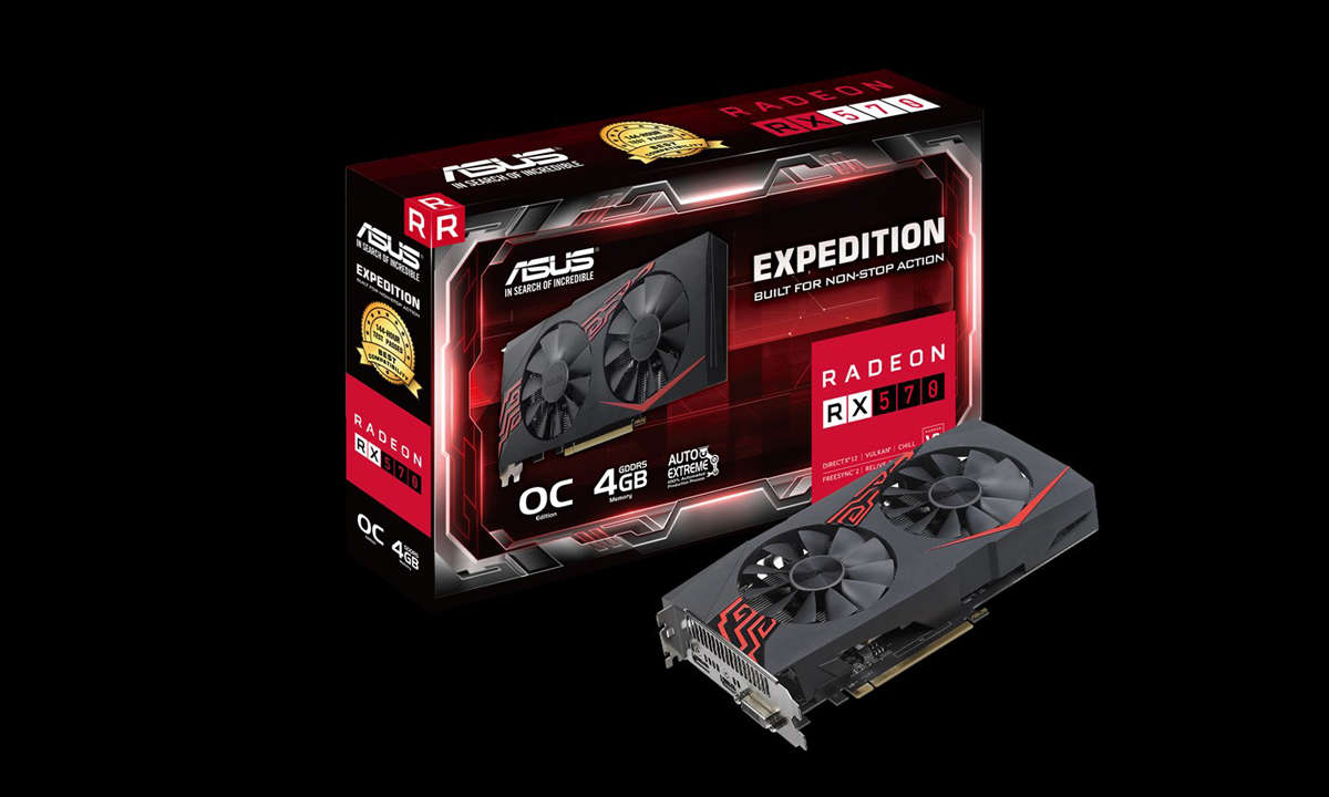 Asus Expedition Radeon RX570 04G