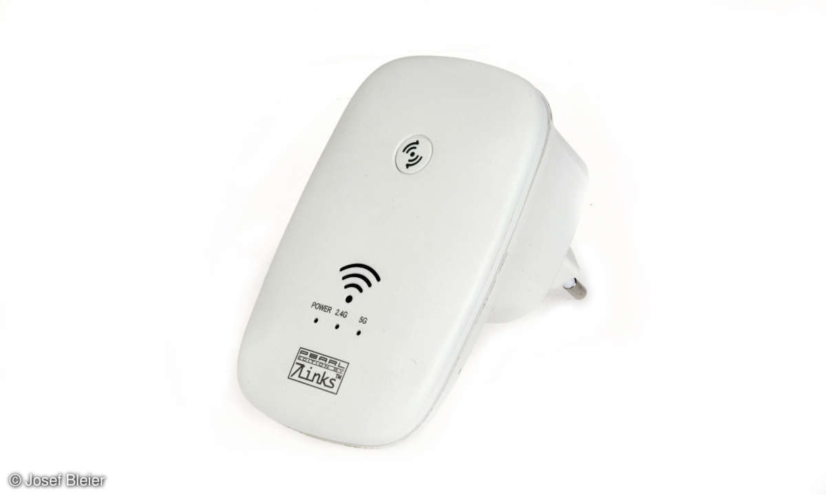 7Links Dualband-WLAN-Repeater WLR-750.ac