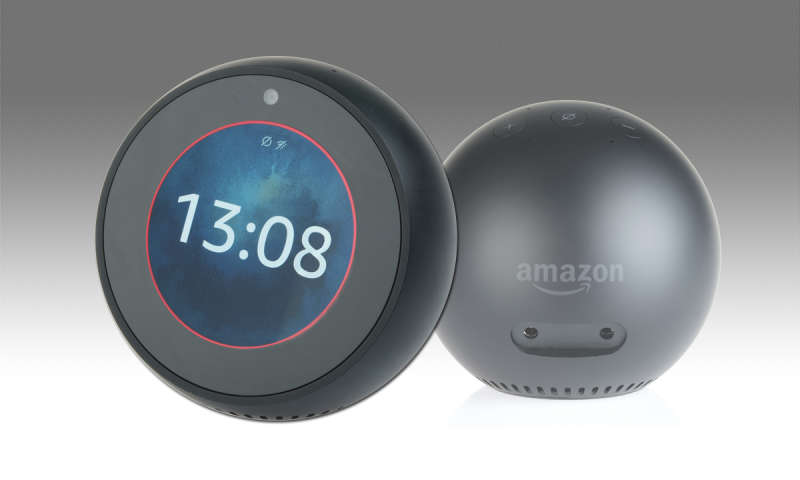 amazon echo spot im test potenzial nicht ausgesch pft. Black Bedroom Furniture Sets. Home Design Ideas