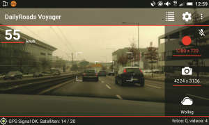Recycling Smartphone Dailyroads Voyager Dashcam